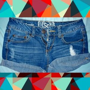SO authentic Jean Shorts